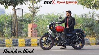 RE Thunder Bird 350X Review | Top Speed
