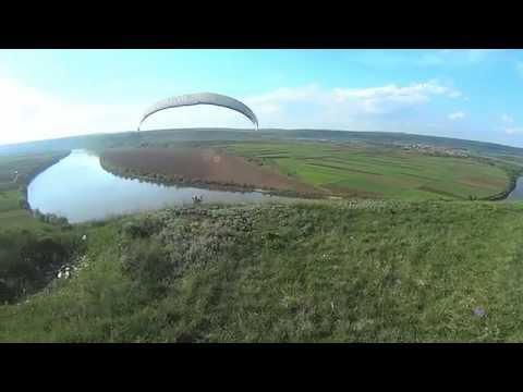 АэроКлуб Горизонт - Украина, Бакота полеты на параплане - учебные сборы 05.2013 (Парапланеризм)