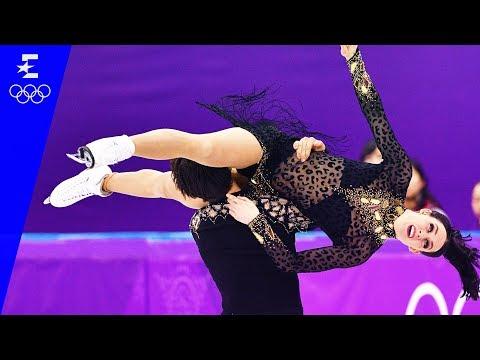 Figure Skating   Ice Dance Short Dance Highlights   Pyeongchang 2018   Eurosport