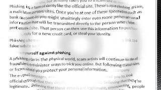 Abney Associates Internet Technology: Phishing, Email and Internet Scams.wmv