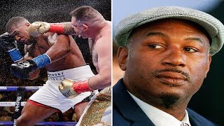 LENNOX LEWIS BLAST ANTHONY JOSHUA FOR CALLING HIM A CLOWN  & PORTER WORK WITH ANDRADE