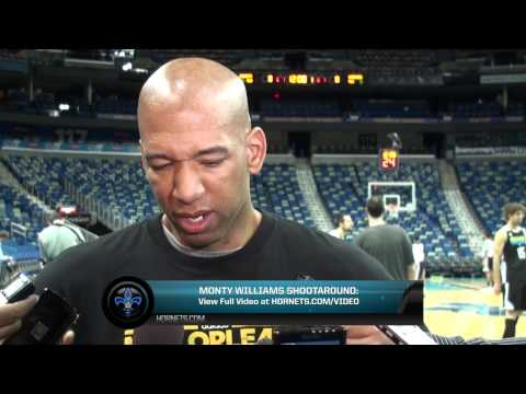 3/20/2013 Monty Williams Shootaround Preview