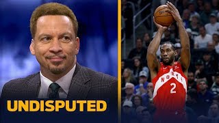 Chris Broussard reacts to Kawhi Leonard's 35-pt performance in Game 5 | NBA | UNDISPUTED