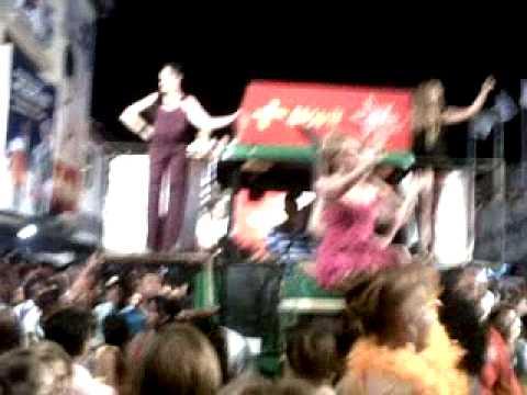 CALLE ARRIBA 2011 REINAS ANTESESORAS EN EL GRILLO