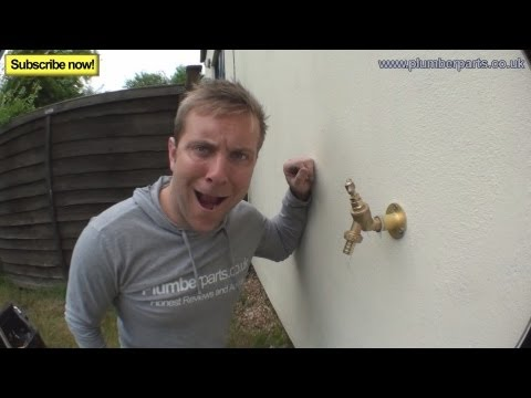 HOW TO FIT AN OUTSIDE TAP - Plumbing Tips