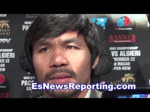manny pacquiao calls brandon rios a cheater - EsNews boxing
