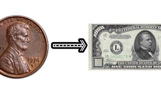 Turning a penny into $1000 (Episode 1)