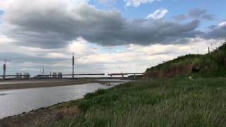Mersey gateway project, 22nd may 2017 Time lapse
