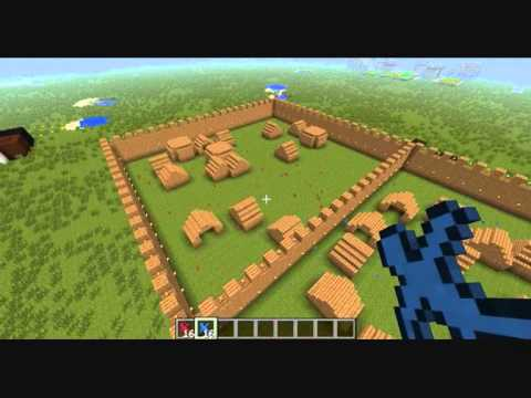 Minecraft Clay Soldiers Village