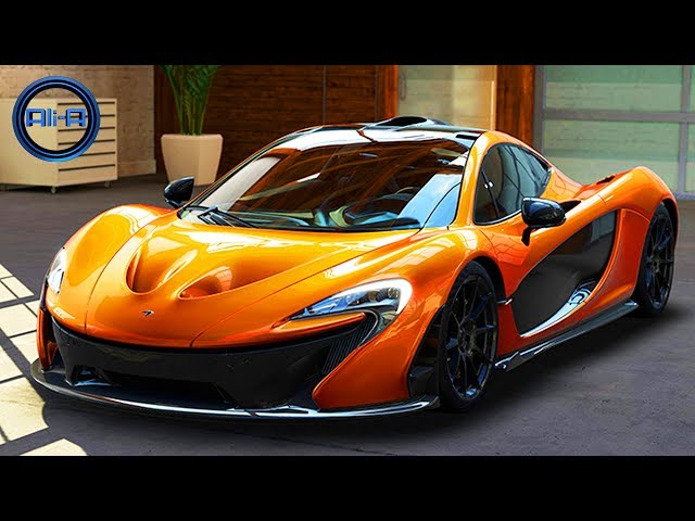 "XBOX ONE GAMEPLAY - Forza Motorsport 5 ""MCLAREN P1"" - New 2013 Racing Cars Driving 1080p HD"