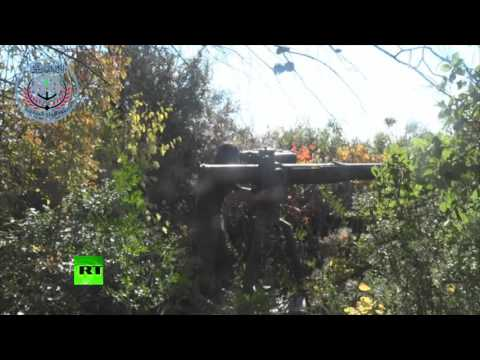 RAW: Moment RT journalists were attacked by US TOW anti-tank missile in Syria