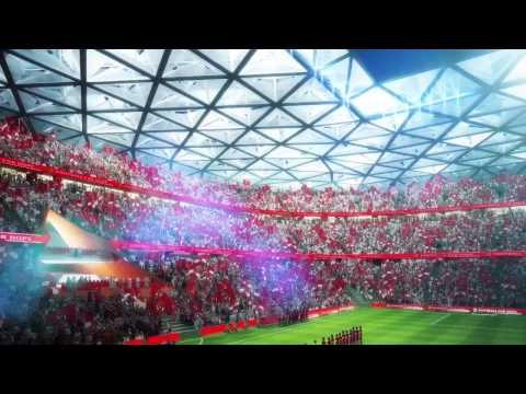 New Al Ahly Sports Club Stadium Design, Cairo Egypt