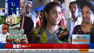 Ramzan Special Night Shopping|Public Response On Charminar Night Bazar|Hyderabad|Mahaa News Report