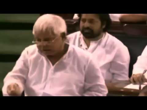 Lalu Prasad Yadav Comedy Speech Vs Atal Bihari Vajpayee Serious One video