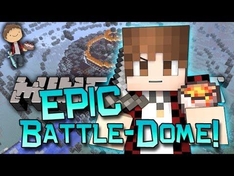 Minecraft: MOST EPIC BATTLE-DOME w/Mitch & Jerome! Betty & Lava Fo' EVA!