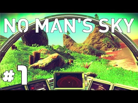 No Man's Sky Gameplay - Ep. 1 - Explore, Survive, Craft, and Lazers! - Let's Play No Mans Sky Game
