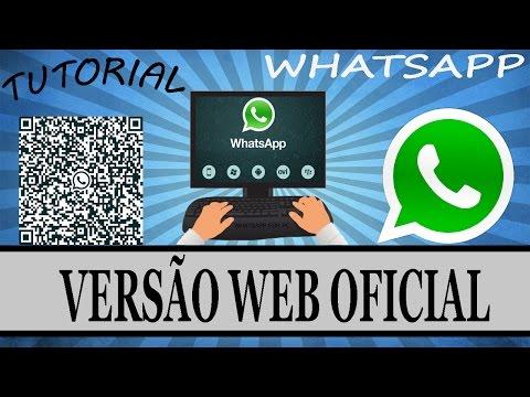 Como Usar o WhatsApp no PC (WhatsApp Web) #OFICIAL