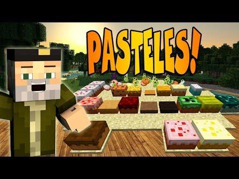 MÁS PASTELES!! | MORE CAKES MOD - MINECRAFT MOD