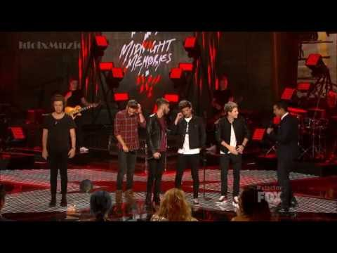 [hd] One Direction - Midnight Memories -  X Factor Usa 2013 Finale video