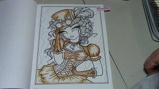 January 4 Challenge - Trixie - Steampunk Darlings - Hannah Lynn