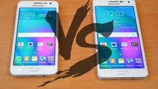 Samsung Galaxy A3 VS Samsung Galaxy A5 Какой выбрать?