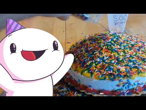 100,000 Посыпок на Торте ( TheOdd1sOut на русском ) | 100,000 Sprinkles on a Cake (not really)