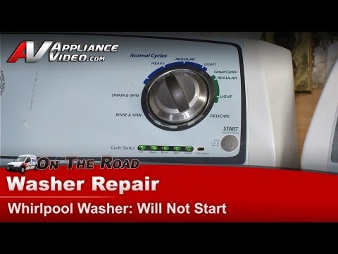 Washer Repair Not Start -Repair & Diagnostic  - Whirlpool, Maytag, Sears WTW4800XQ2