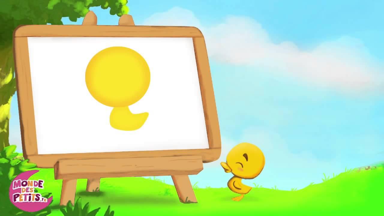Apprendre dessiner la mise en couleur du canard youtube for Couleur du canard
