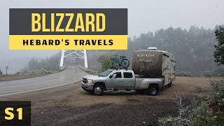 Trapped In A Snow Storm/Blizzard In Our RV