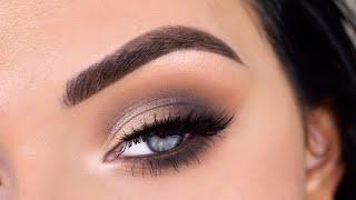 EASY Everyday Smokey Eye Makeup Tutorial | ABH Modern Renaissance Palette