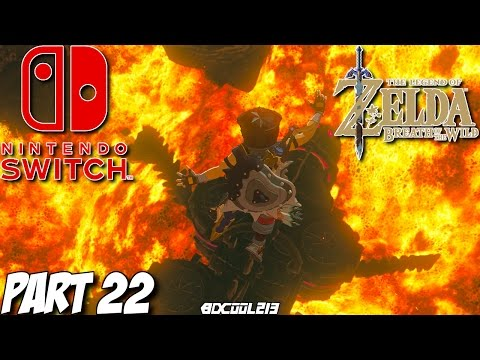 The Legend of Zelda Breath of the Wild Gameplay Walkthrough Part 22 - Nintendo Switch Lets Play