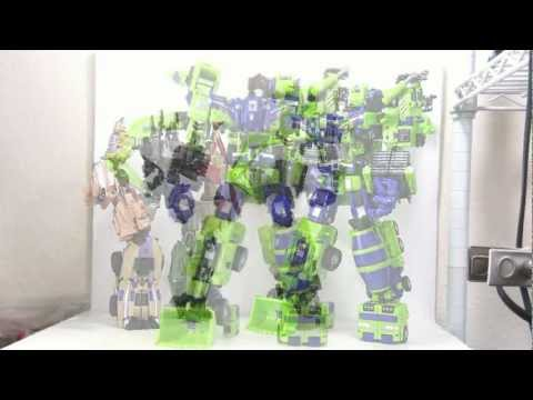 Video Review of the TFC Toys: Hercules