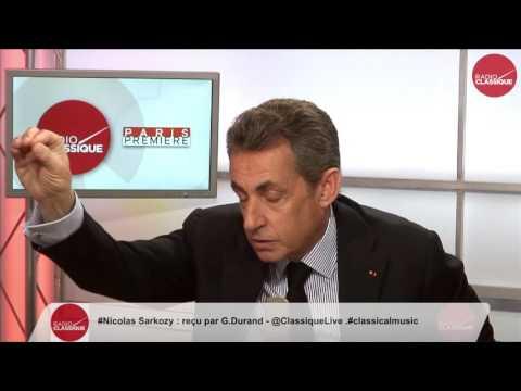 1 ère partie de l'interview de Nicolas Sarkozy