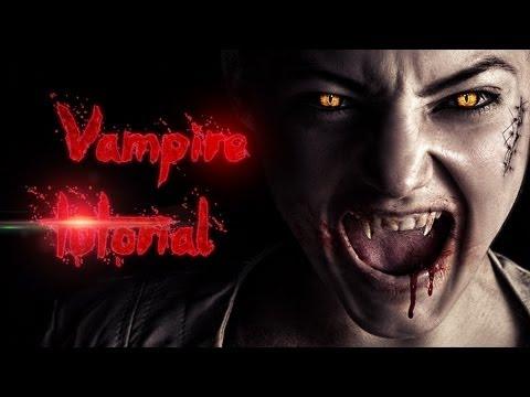 0 Vampire Effect   Advanced Photoshop Tutorial