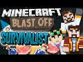 Minecraft Blast Off! #3 SURVIVALIST