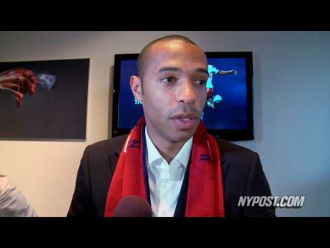 Thierry Henry Joins Red Bulls - New York Post Video