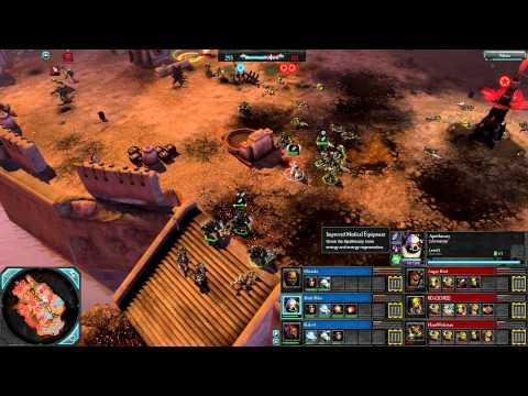 Dawn of War 2: Retribution — 3v3 | Faction War — Space Marines [vs] Orks | 3