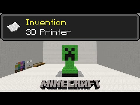 3D Printer With 16 Colors - Minecraft Invention