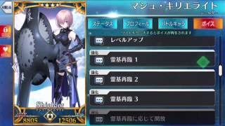 [Fate/Grand Order] Matthew Kyrielite Shielder - All voice(01_ Risa Taneda)