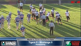 AM FOOTBALL - FULL Game and Commentary - Gordon Rushville vs Mitchell Tigers - FREAM Sports