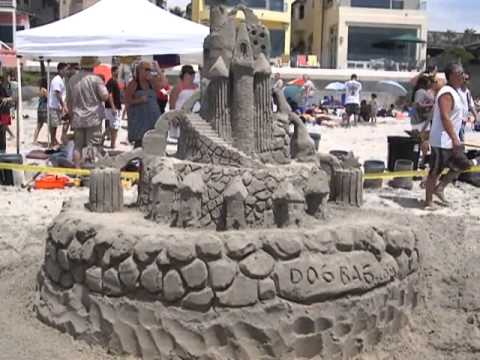 The US sandcastle contest showcases over 30 professional and amatuer sand ...