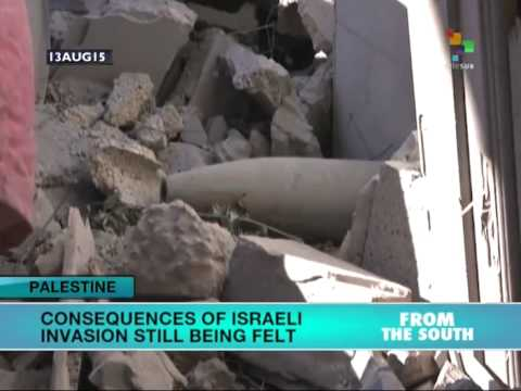Gaza Still Suffers Consequences of Last Year's Israeli Onslaught
