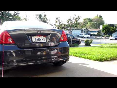 2006 Scion tC with TRD catback exhaust