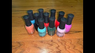 My Orly collection