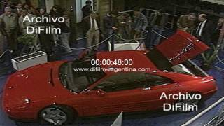 Se levanta la subasta con el coche Ferrari 348 TB de Carlos Menem 1991