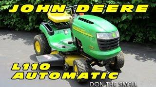 John Deere L110 Automatic Lawn Tractor