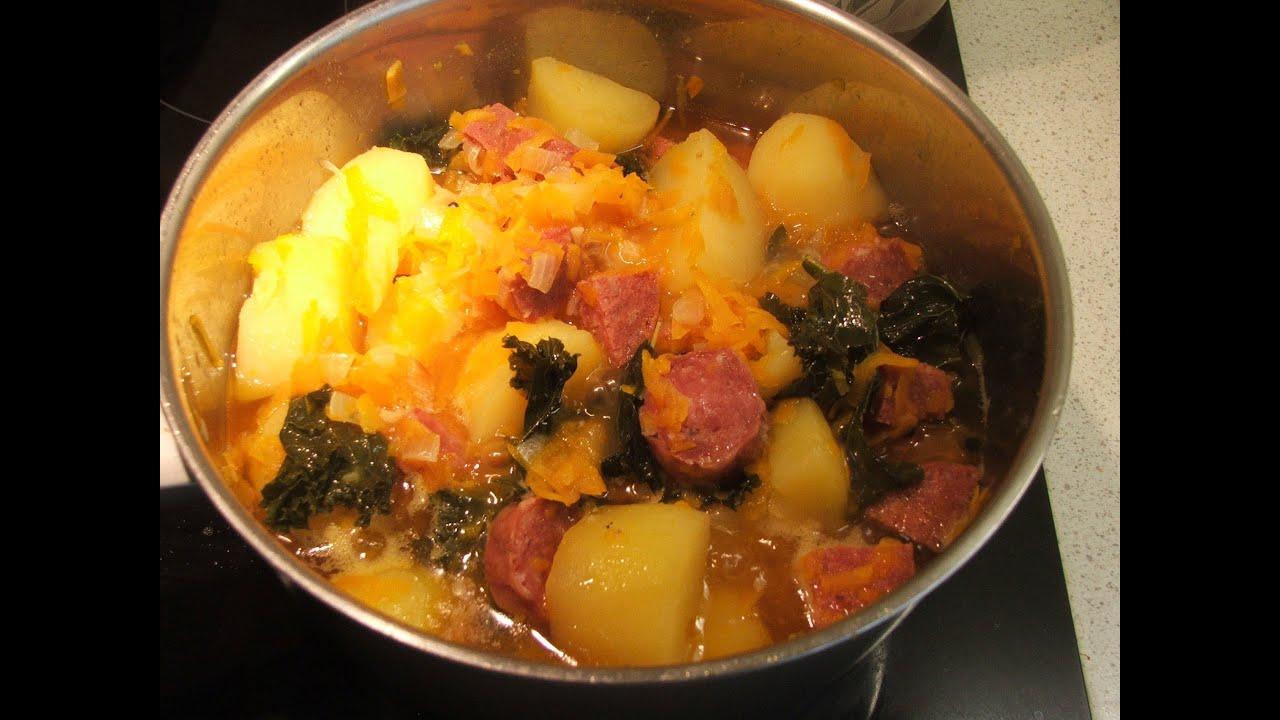 Рецепт картошка с копченостями