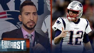 Pats passing attack in utter disarray vs Texans & that's mostly on Brady | NFL | FIRST THINGS FIRST