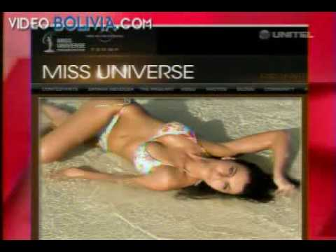 Miss Bolivia Dominique Peltier  VIVA BOLIVIA UNIDA CARAJO!!