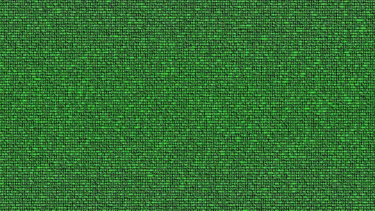 Hacking Code Runs on Screen